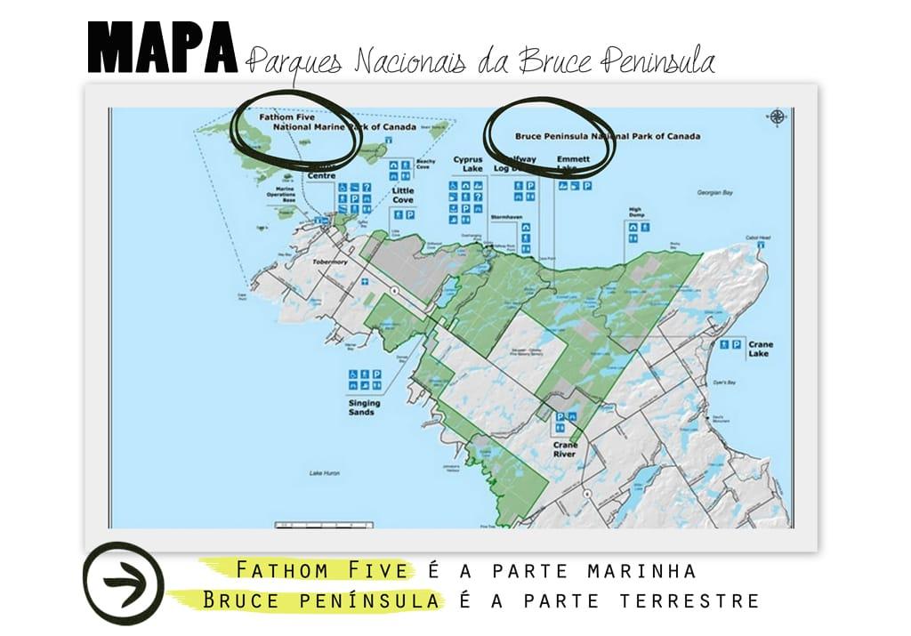 mapaparquesnacionais_brucepeninsula