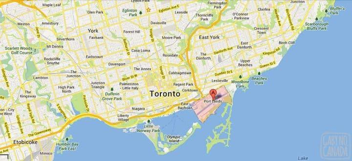 Portlands_map_Toronto_gabynocanada