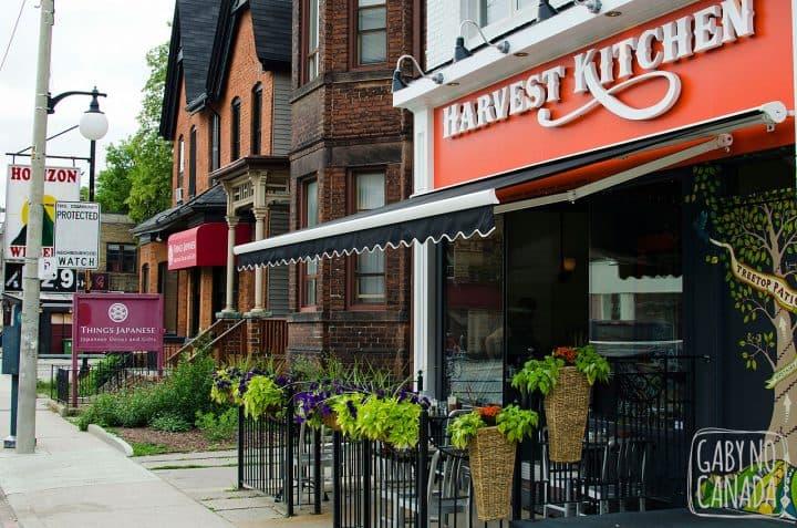 Harvest Kitchen Restaurant Toronto